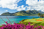 'Golf course on entrance to Nawiliwili Harbor; Lihue, Kauai, Hawaii, United States of America'