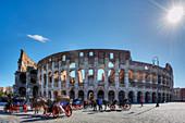 Colosseum, Forum Romanum, Rome, Latium, Italy
