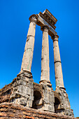 Temple of Castor and Pollux, Forum romanum, Rome, Latium, Italy