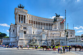 Monumento Nazionale a Vittorio Emanuele II, Rom, Latium, Italien