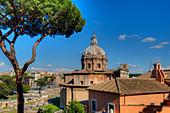 Ulpia basilica, Rome, Latium, Italy