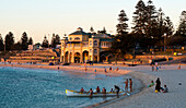 Cottesloe Beach, Perth' most famous beach, with its iconic pavillion