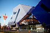 The new Entertainment Centre in Perth captures the imagination trough bold architecture