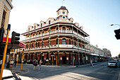 The National Hotel is one of the many historic buildings in Freemantle