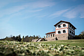 Villa Rustica, Roman open air museum, Zollernalb district, Swabian Alb, Baden-Wuerttemberg, Germany