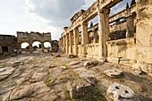 Hierapolis. Ancient Greece. Asia Minor. Turkey.