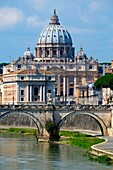 Tiber River Rome Italy IT EU Europe.