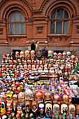 Russia, Moscow, gift shop, the matrechka, Russian dolls
