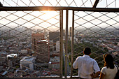 Mexico, Federal District, Mexico City, view from the Torre Latino America