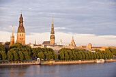 Latvia (Baltic States), Riga, European capital of culture 2014, historical centre listed as World Heritage by UNESCO, St. Peter Church and Cathedral