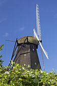 Windmill Rudkøbing on the island Langeland, Danish South Sea Islands, Southern Denmark, Denmark, Scandinavia, Northern Europe