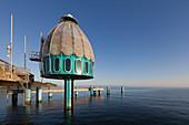 Diving bell on the Pier, Sellin, Ruegen, Baltic Sea, Mecklenburg-West Pomerania, Germany