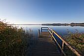 Sellin lake, Ruegen, Baltic Sea, Mecklenburg-West Pomerania, Germany