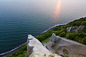 Viktoriasicht, Chalk cliffs, Jasmund national park, Ruegen, Baltic Sea, Mecklenburg-West Pomerania, Germany