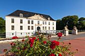 Dornum castle, East Friesland, Lower Saxony, Germany