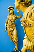 France, Paris, Musee de la Marine (Maritime Museum) in Palais de Chaillot, sculptures de proue