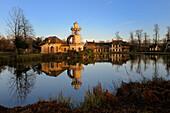 France, Yvelines, Chateau de Versailles, listed as World Heritage by UNESCO, Domaine de Marie Antoinette, Hameau de la Reine (the Queen's Hamlet), Marlborough Tower