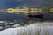 Norway, Hordaland County, Oppheim Lake at North Voss