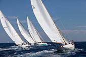 'Classic Sailing Regatta ''Les Voiles de St. Tropez'', St. Tropez, Côte d'Azur, France'