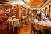 France, Paris, La Madeleine District, restaurant of Hediard Delicatessen