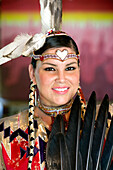 Canada, Ontario Province, Ottawa, Victoria Island, Aboriginal Experiences, Amerindian show