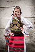 Traditional Clothes of Romania Festival, Nasaud, Transylvania, Romania, Europe