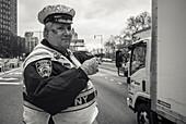 The Traffic Policeman from New York, New York City, New York, USA