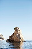 The Calanques, Nature park at the Mediterranean sea, Marseille, France