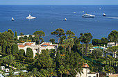 Saint Jean Cap Ferrat, Luxery Villa, Yachts, Meditarrenean Sea, Cote d Azur, France, Europe