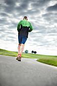 Paul Ramp, long distance runner, Otterfing, Bavaria, Germany 2016
