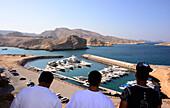 Al Jissa harbour near Al Bustan Hotel near Muscat, Oman