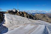 Corvatsch-Summitstation, Bernina, Engadine, Canton Grisons, Switzerland