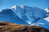Piz Palu Northface, Bernina, Pontresina, Engadine, Canton Grisons, Switzerland