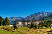 Hotel Maloja-Palace at Maloja, Engadine, Canton Grisons, Switzerland