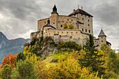 Tarasp castle, Engadine, Canton Grisons, Switzerland