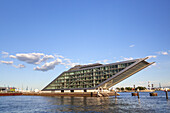 Modern architecture Dockland in the Port of Hamburg, Hanseatic City of Hamburg, Northern Germany, Germany, Europe