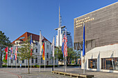 German Emigration Center in the new port of Bremerhaven, Hanseatic City Bremen, North Sea coast, Northern Germany, Germany, Europe