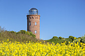 Tower Peilturm at Cape Arkona, Peninsula Wittow, Island Ruegen, Baltic Sea coast, Mecklenburg-Western Pomerania, Northern Germany, Germany, Europe