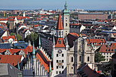 Old city hall, Altes Rathaus, Heilig-Geist-Kirche, Munich, Bavaria, Germany