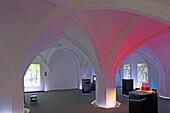Vault of the Muenchner Kaiserburg, Alter Hof, Munich, Bavaria, Germany