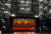 Stage and auditorium of Muenchner Kammerspiele, Munich, Bavaria, Germany