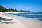 Sunrise Beach at Half Moon Resort and Caribbean Sea Rose Hall, near Montego Bay, Saint James, Jamaica