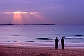 Evening at Jumeirah Beach, Dubai, United Arab Emirates