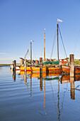 Harbour in Althagen, Baltic seaside resort Ahrenshoop, Fischland-Darss-Zingst, Baltic coast, Mecklenburg-Western Pomerania, Northern Germany, Germany, Europe