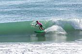 stand up paddle surfer, SUP, standup paddleboarding, water sport, Papamoa Beach, holiday beach, surf beach, Tauranga, North Island, New Zealand