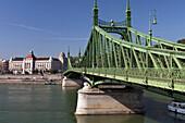 Szabadsag Hid (Liberty Bridge), Budapest, Hungary