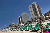 The beach, Tel-Aviv, Israel