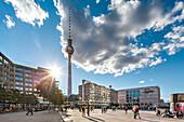 Alexanderplatz and TV Tower, Berlin, Germany