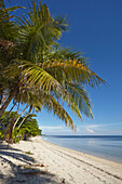 The beach at San Juan on the southwest coast of Siquijor, Philippines, Southeast Asia, Asia