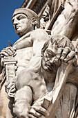 Detail, Arc de Triomphe, Paris, Frankreich, Europa